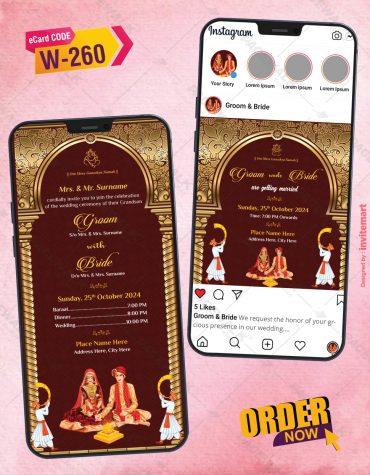 Wedding Invitation Instagram