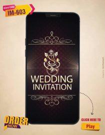 Indian Wedding Invitation Video