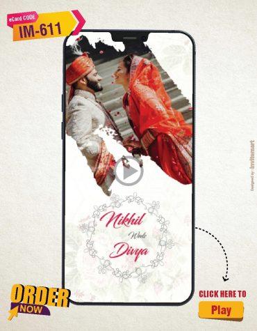 Indian Modern Wedding Invitation Video