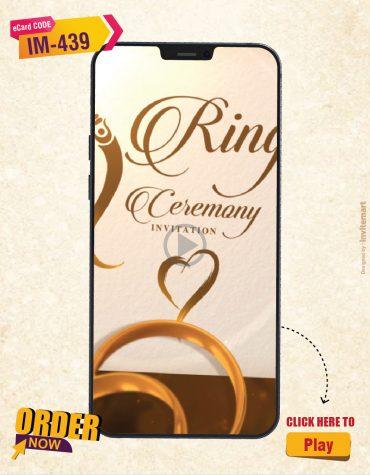 Ring Ceremony Invitation Video