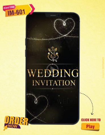 Hindu Wedding Invite Video
