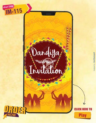 Dandiya Invitation Video